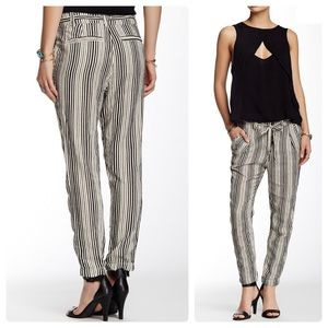 •FREE PEOPLE• Striped Beach Trouser Ankle Pant 6